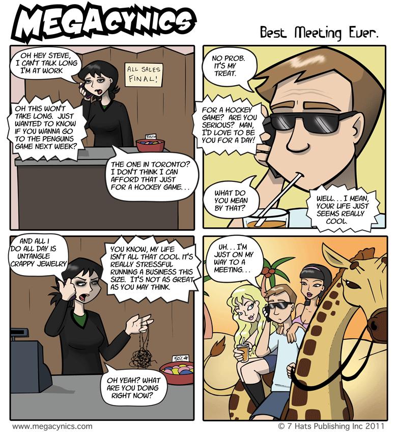 MegaCynics: Best Meeting Ever (Mar 2, 2011)