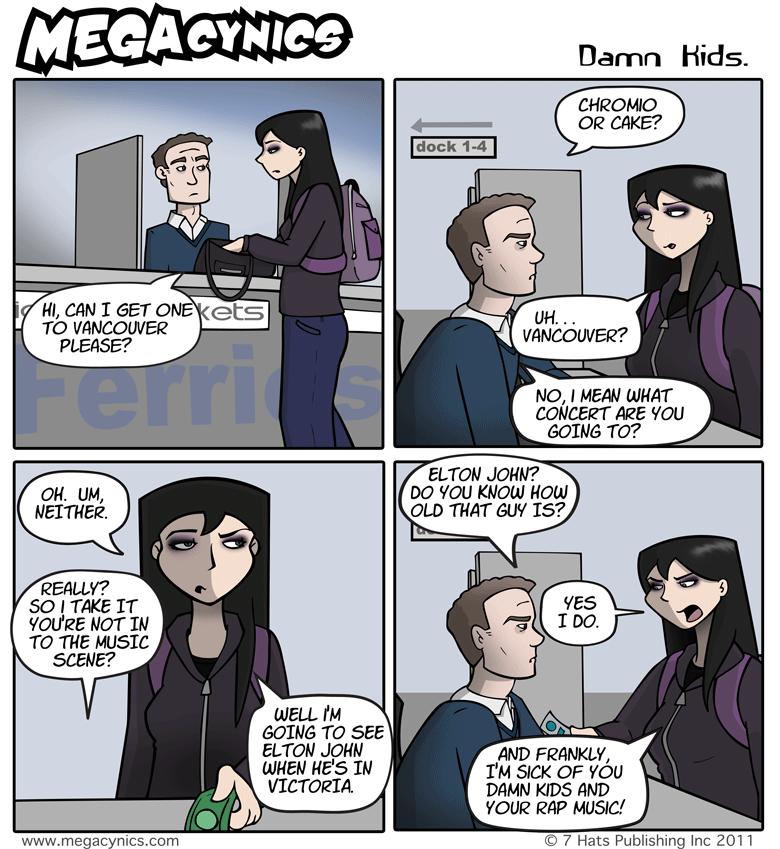 MegaCynics: Damn Kids (Mar 4, 2011)