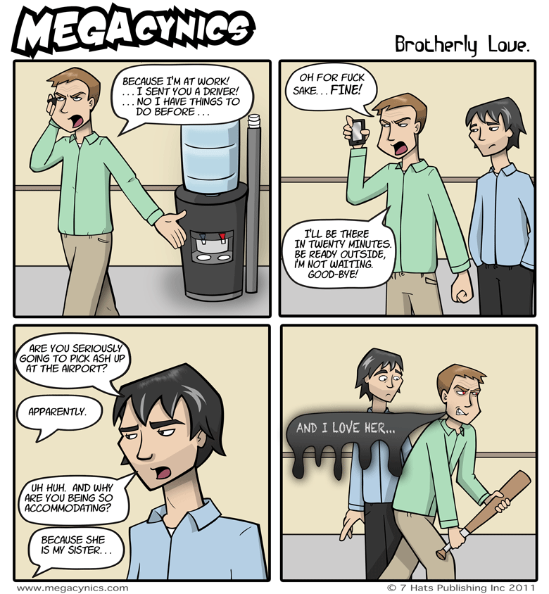 MegaCynics: Brotherly Love (Mar 16, 2011)