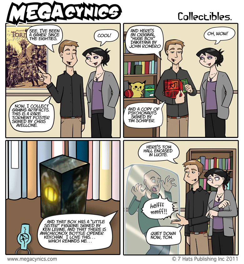 MegaCynics: Collectibles (Apr 8, 2011)