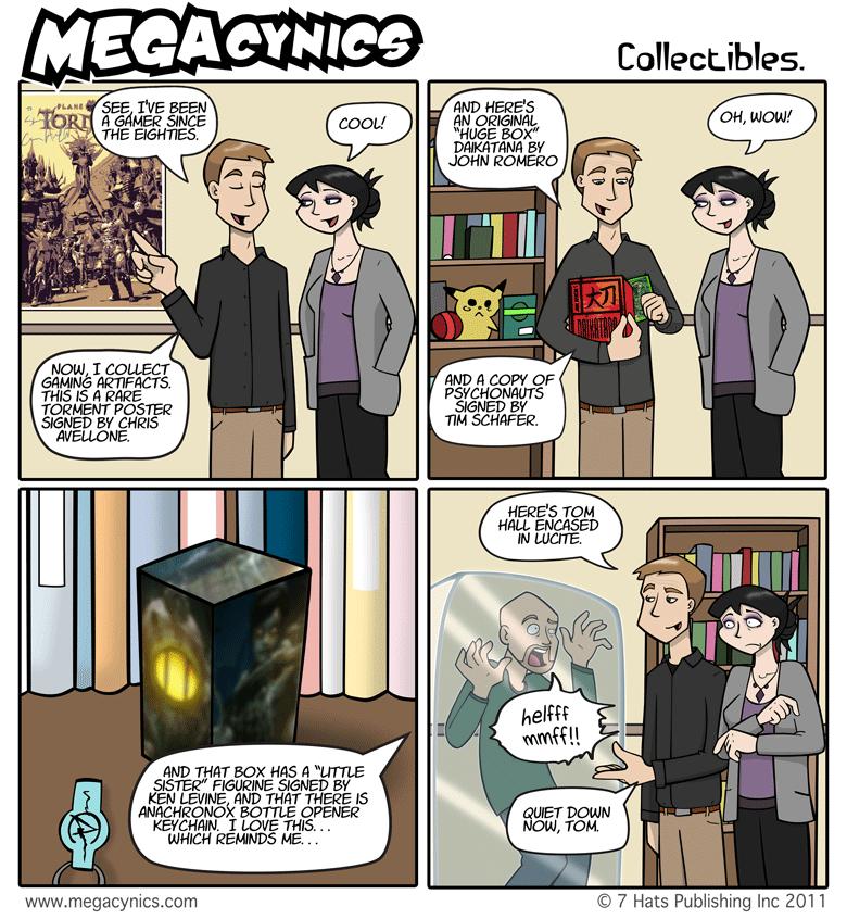 MegaCynics: Collectibles (Apr 8, 2011)