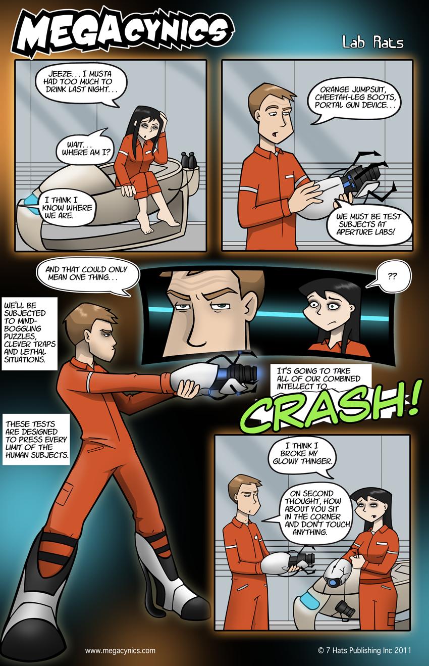 MegaCynics: Lab Rats (Apr 19, 2011)