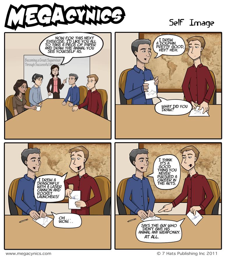 MegaCynics: Self Image (Apr 27, 2011)