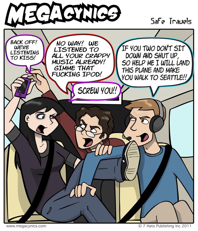 MegaCynics: Safe Travels (May 11, 2011)