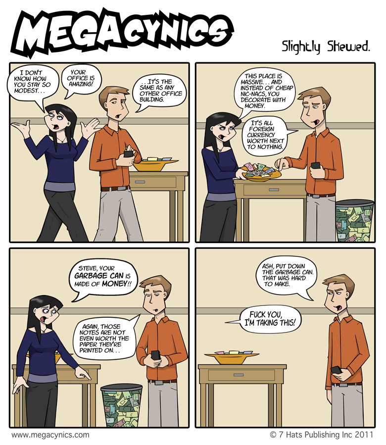 MegaCynics: Slightly Skewed (May 27, 2011)