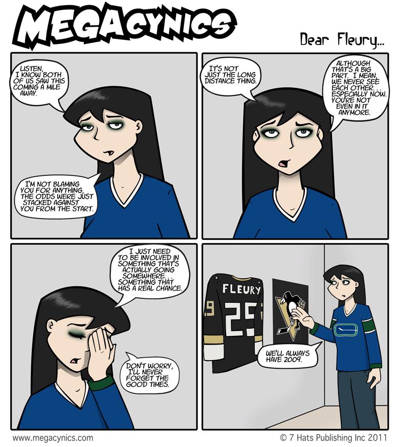 MegaCynics: Dear Fleury... (Jun 1, 2011)