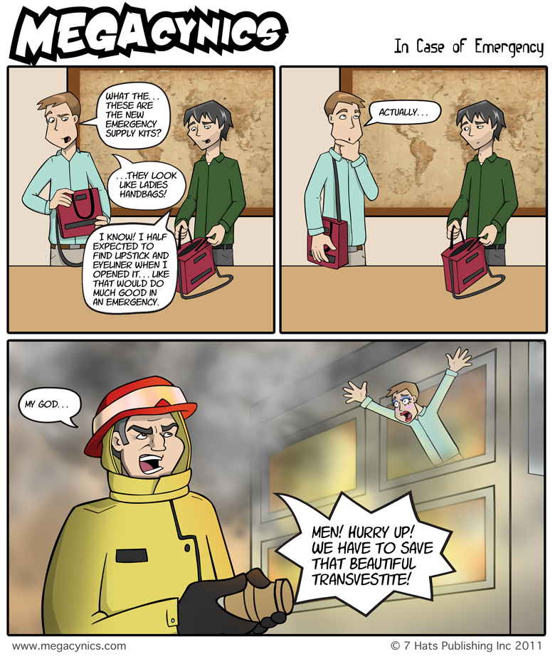 MegaCynics: In Case of Emergency (Jun 22, 2011)