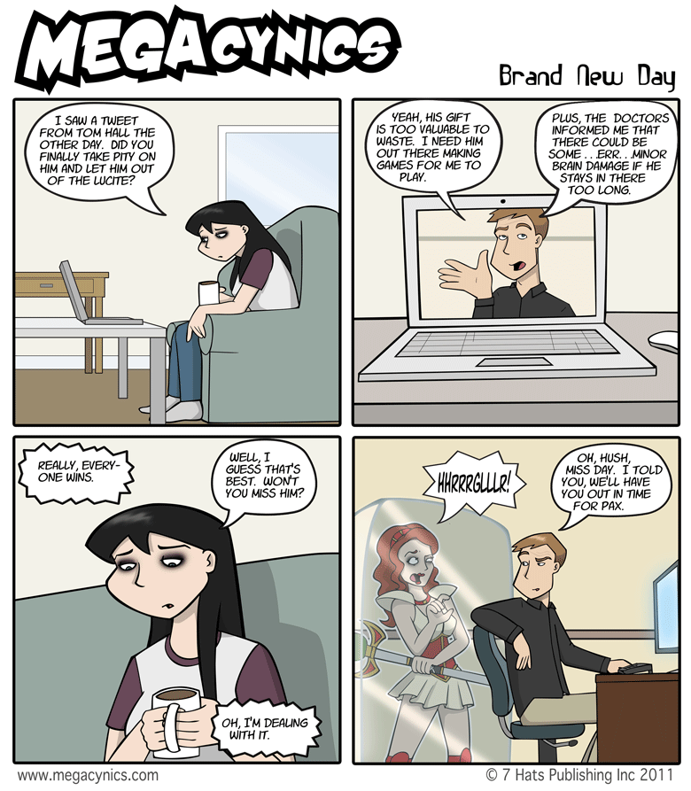 MegaCynics: Brand New Day (Jul 1, 2011)
