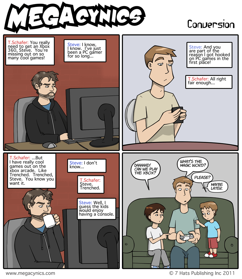 MegaCynics: Conversion (Jul 8, 2011)