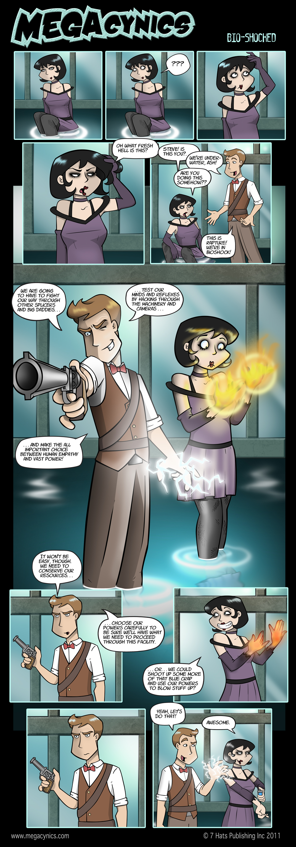 MegaCynics: Bio-Shocked (Aug 5, 2011)