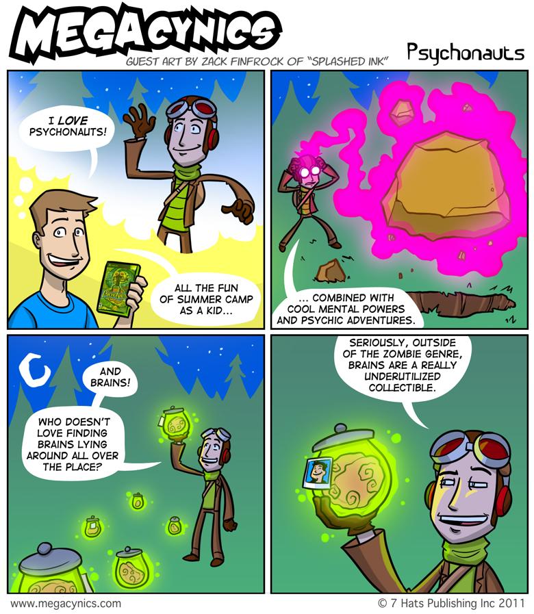 MegaCynics: Psychonauts (Sep 2, 2011)