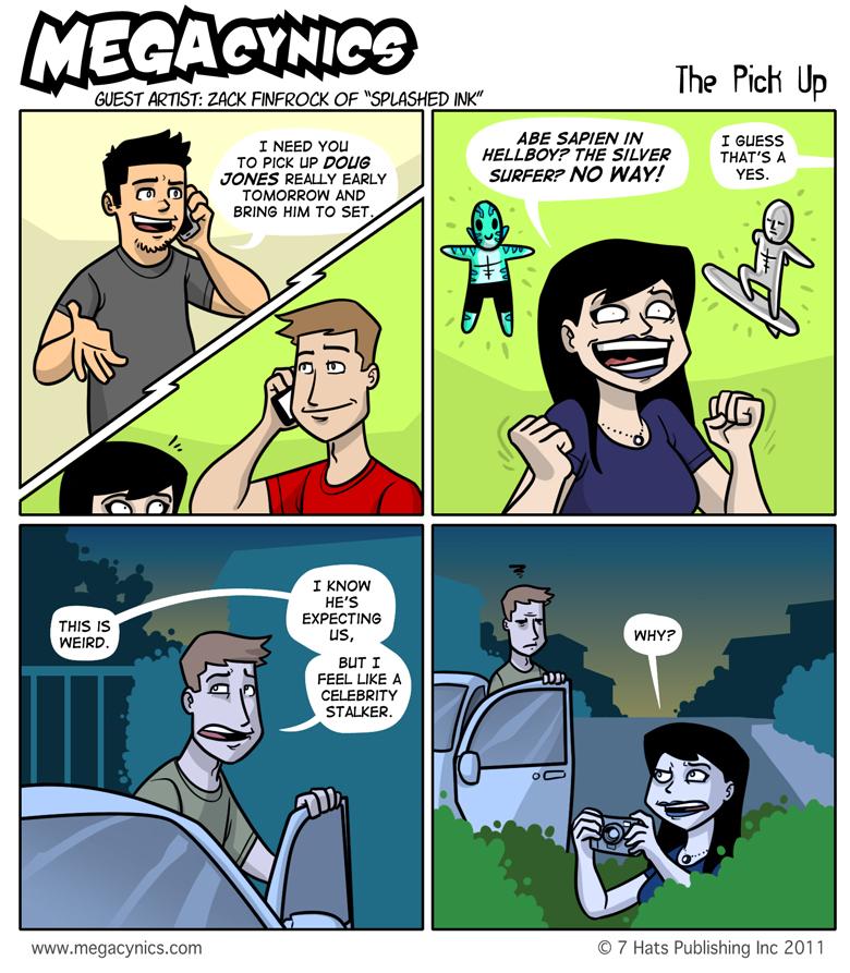 MegaCynics: The Pick Up (Sep 9, 2011)