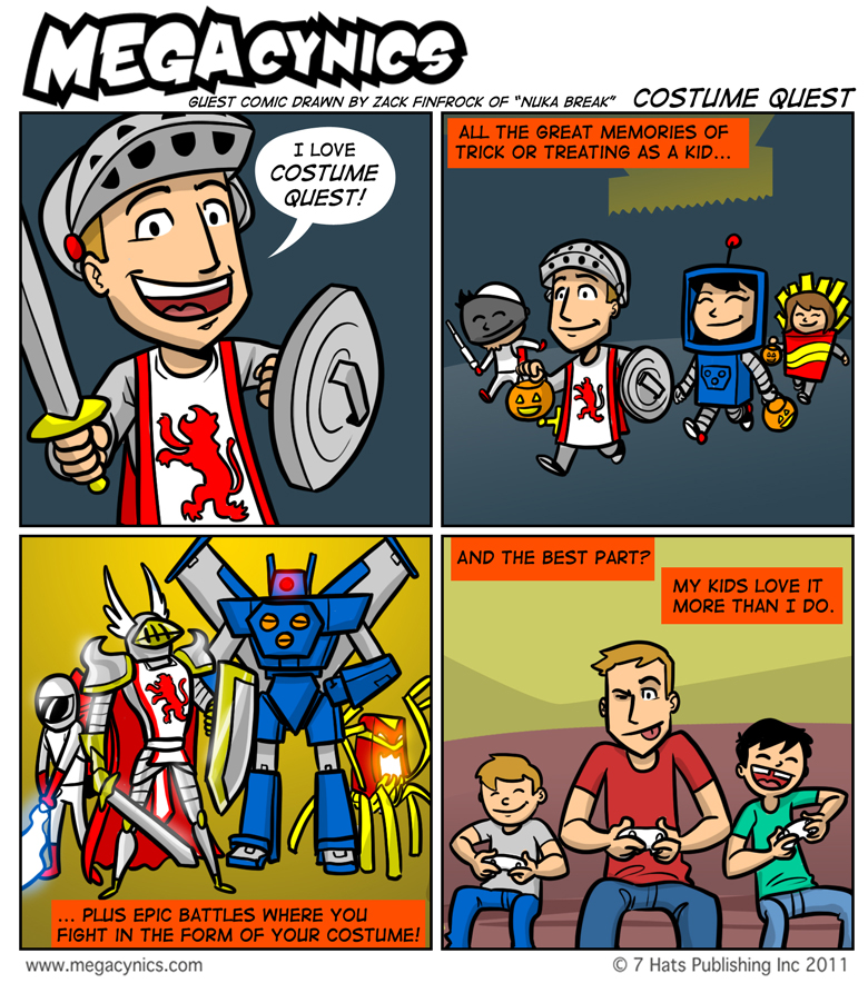 MegaCynics: Costume Quest (Oct 28, 2011)