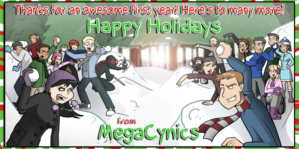 MegaCynics: Happy Holidays! (Dec 25, 2011)