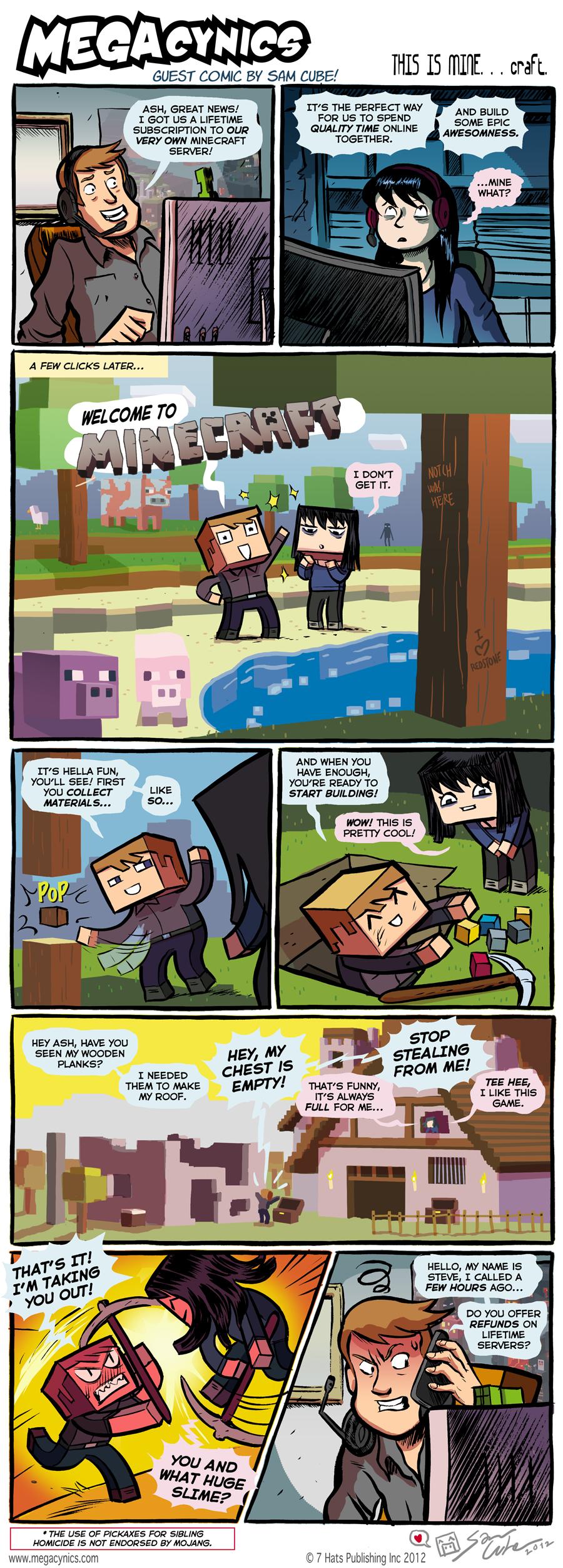 MegaCynics: THIS IS MINE... craft (Feb 10, 2012)