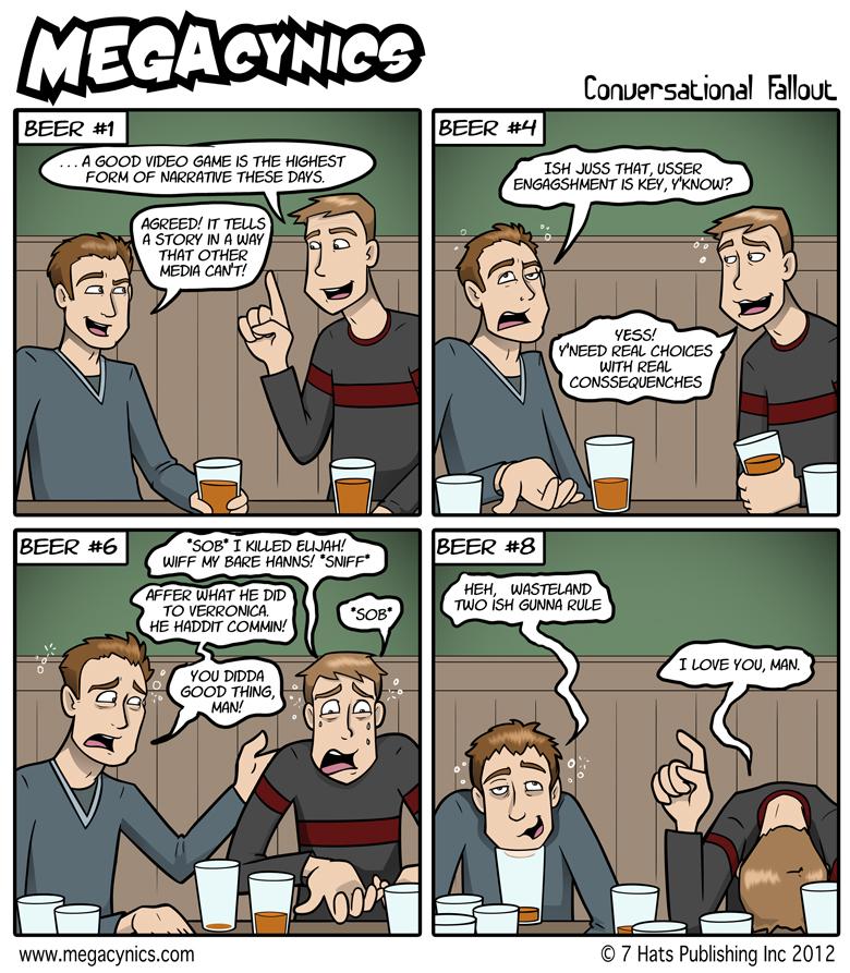 MegaCynics: Conversational Fallout (Apr 25, 2012)