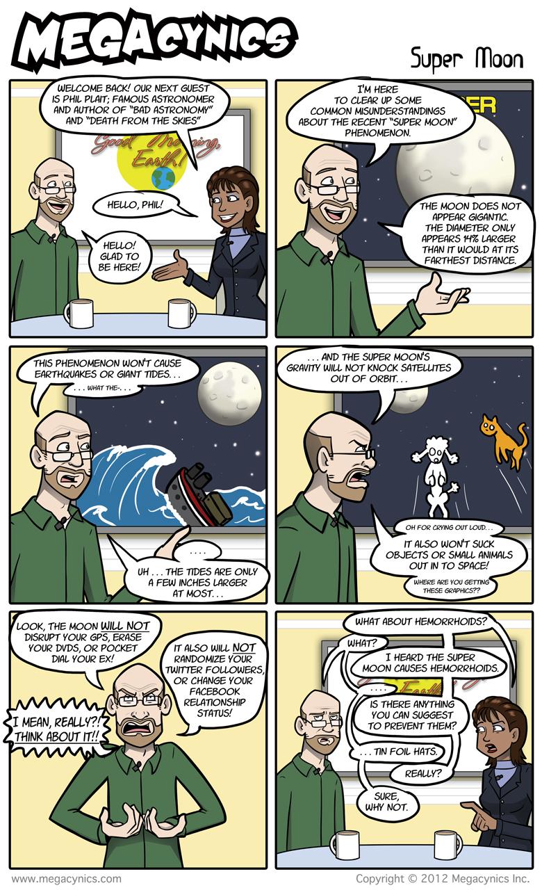 MegaCynics: Super Moon (Jun 29, 2012)