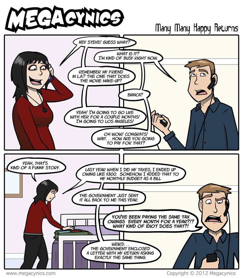 MegaCynics: Many Many Happy Returns (Jul 18, 2012)
