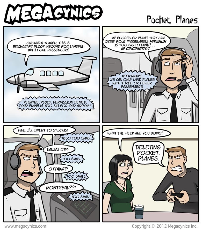 MegaCynics: Pocket Planes (Jul 20, 2012)