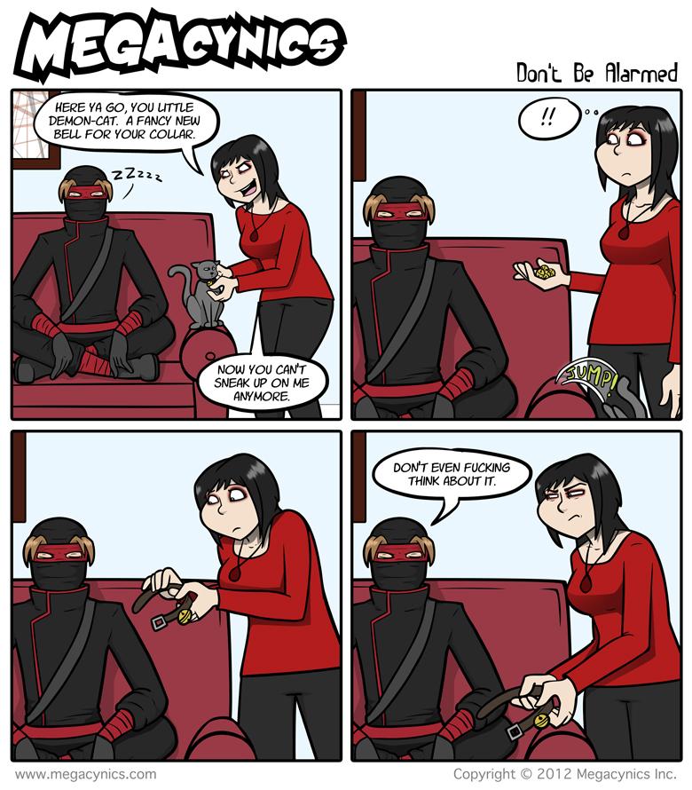 MegaCynics: Don't Be Alarmed (Sep 5, 2012)