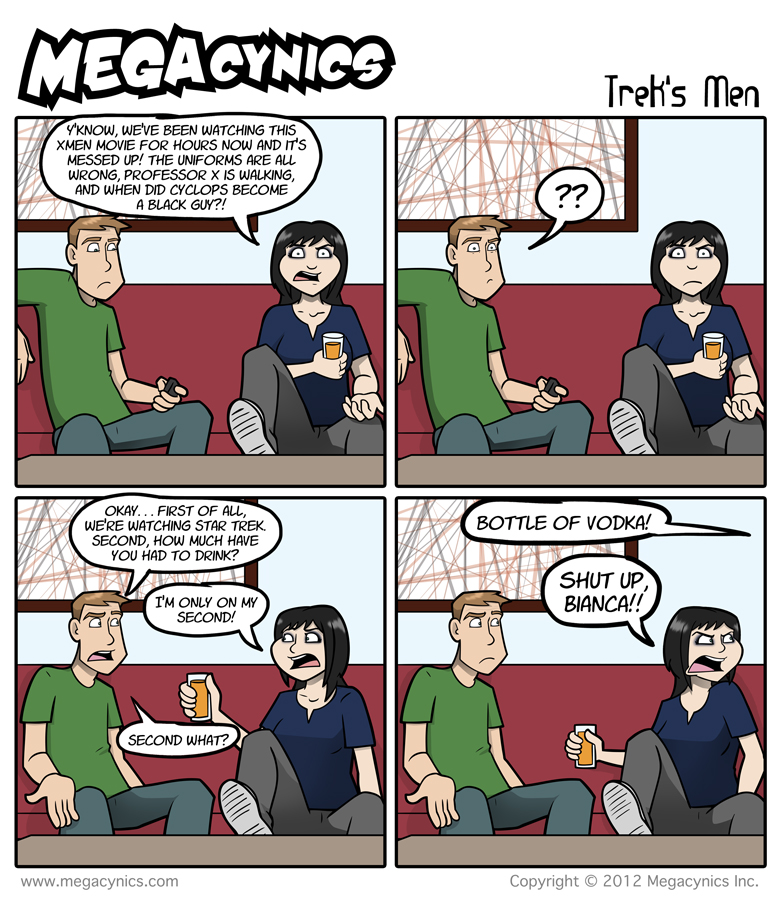 MegaCynics: Trek's Men (Oct 19, 2012)