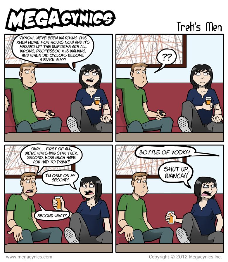 MegaCynics: Trek's Men (Oct 19, 2012)