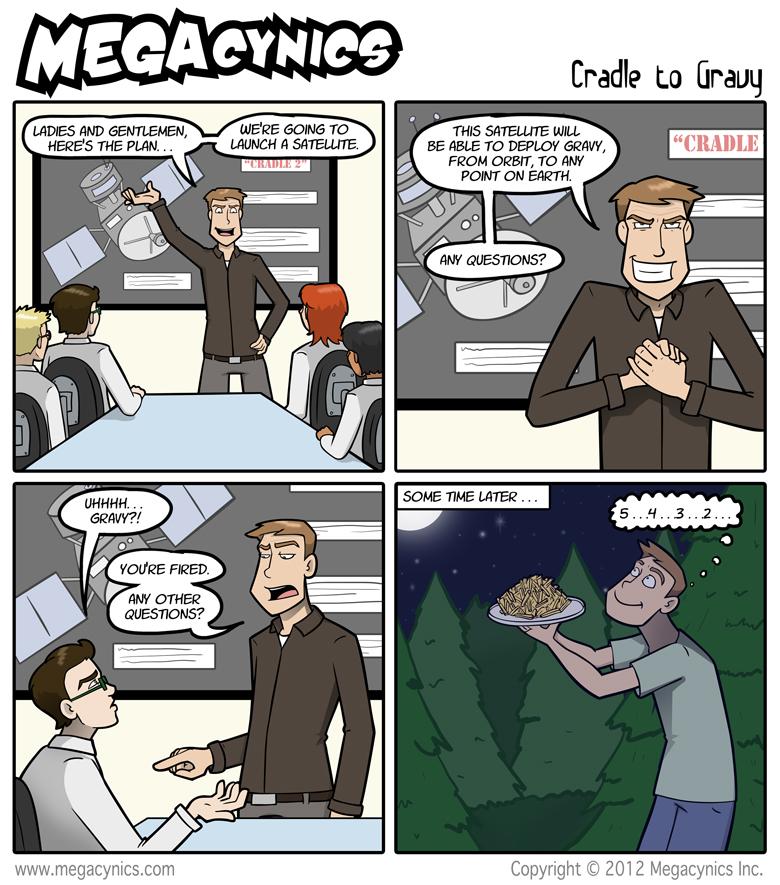 MegaCynics: Cradle to Gravy (Oct 26, 2012)