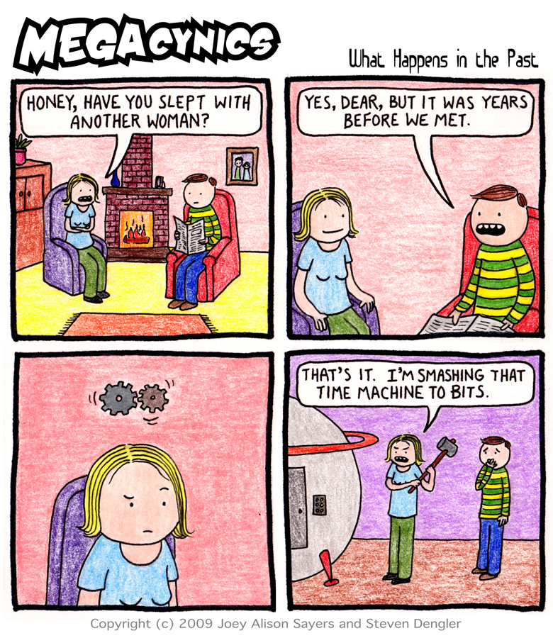 MegaCynics: What Happens in the Past (Nov 7, 2012)
