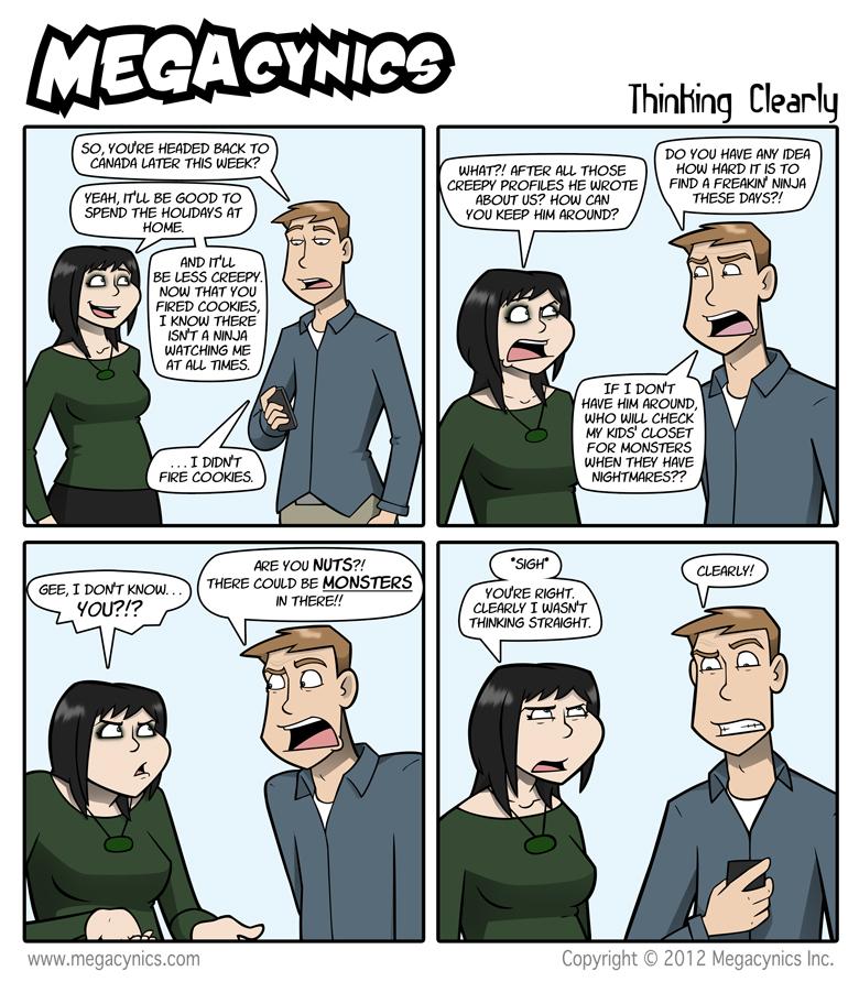MegaCynics: Thinking Clearly (Dec 5, 2012)