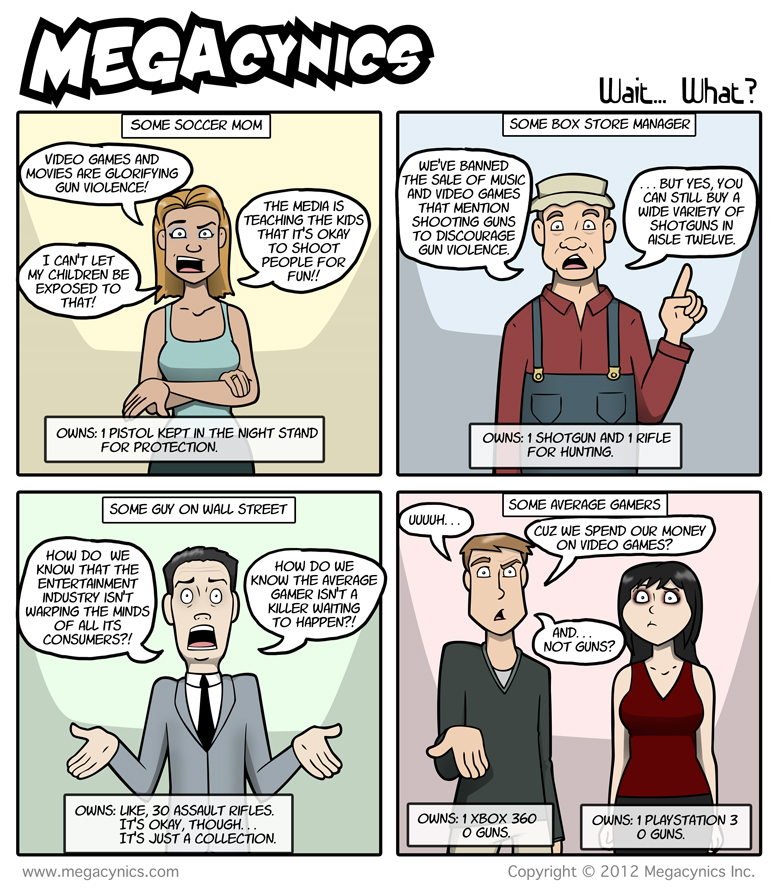 MegaCynics: Wait...What? (Dec 28, 2012)