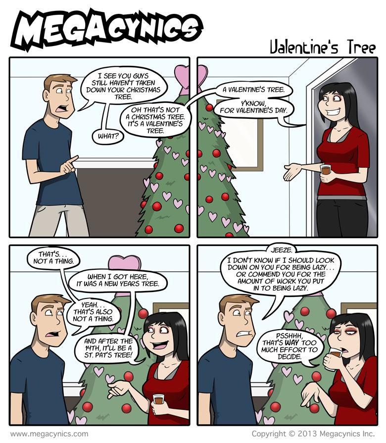 MegaCynics: Valentine's Tree (Feb 1, 2013)