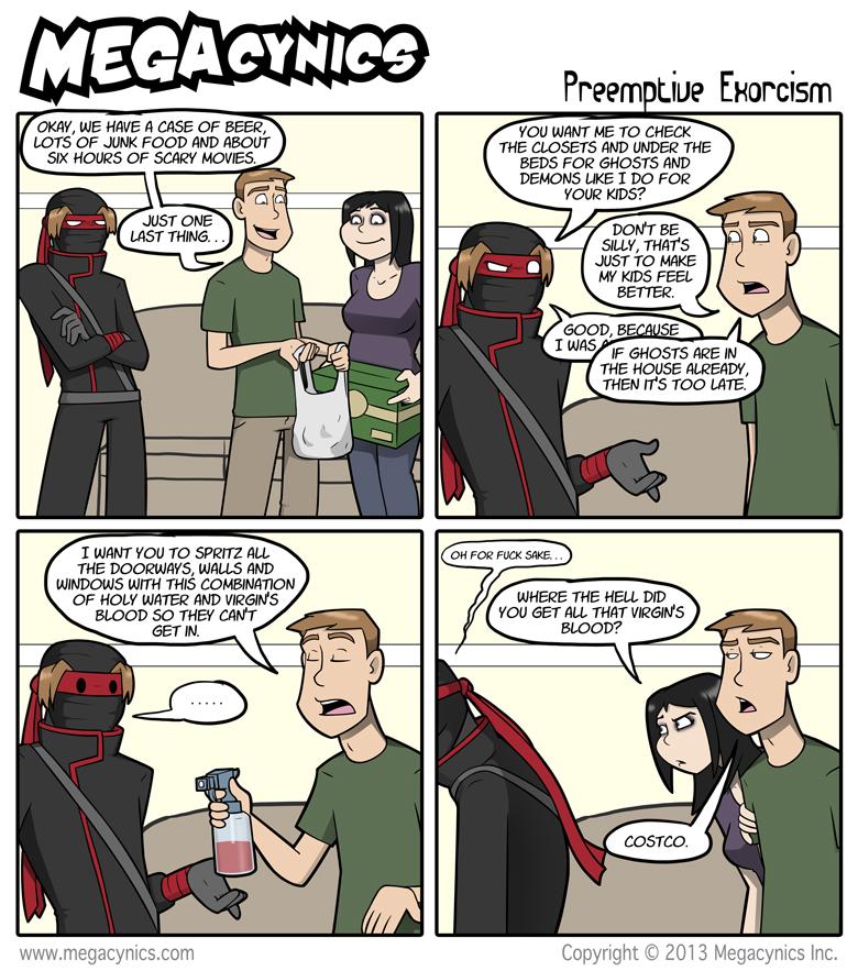 MegaCynics: Preemptive Exorcism (Feb 11, 2013)