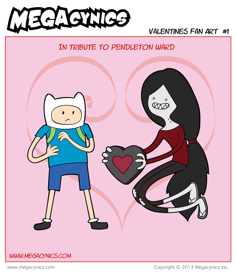 MegaCynics: Valentines Fan Art #1 (Feb 14, 2013)