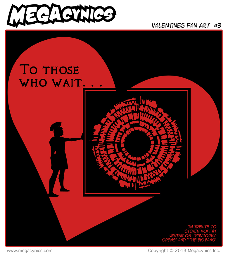 MegaCynics: Valentines Fan Art #2 (Feb 15, 2013)