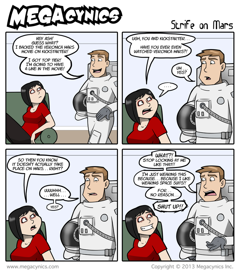 MegaCynics: Strife on Mars (Mar 29, 2013)