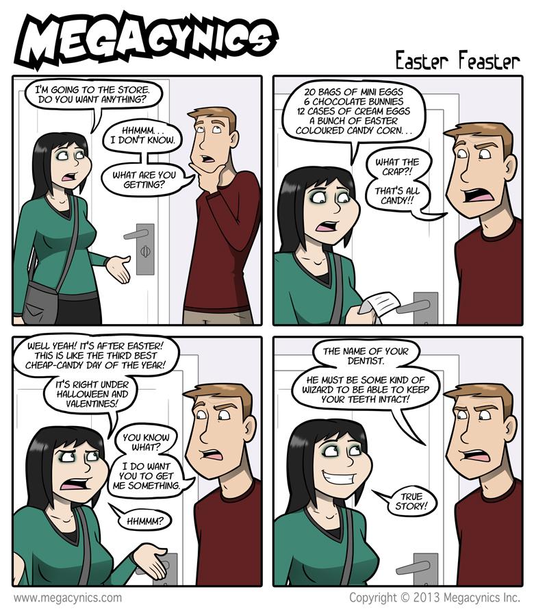 MegaCynics: Easter Feaster (Apr 3, 2013)