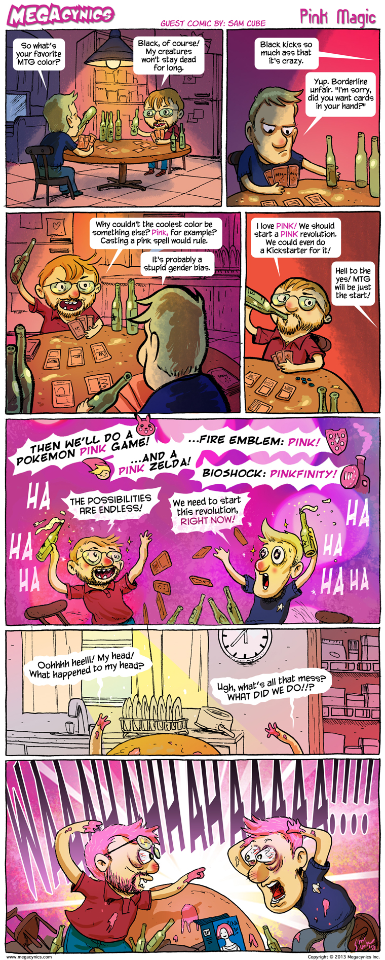 MegaCynics: Pink Magic (Jun 21, 2013)