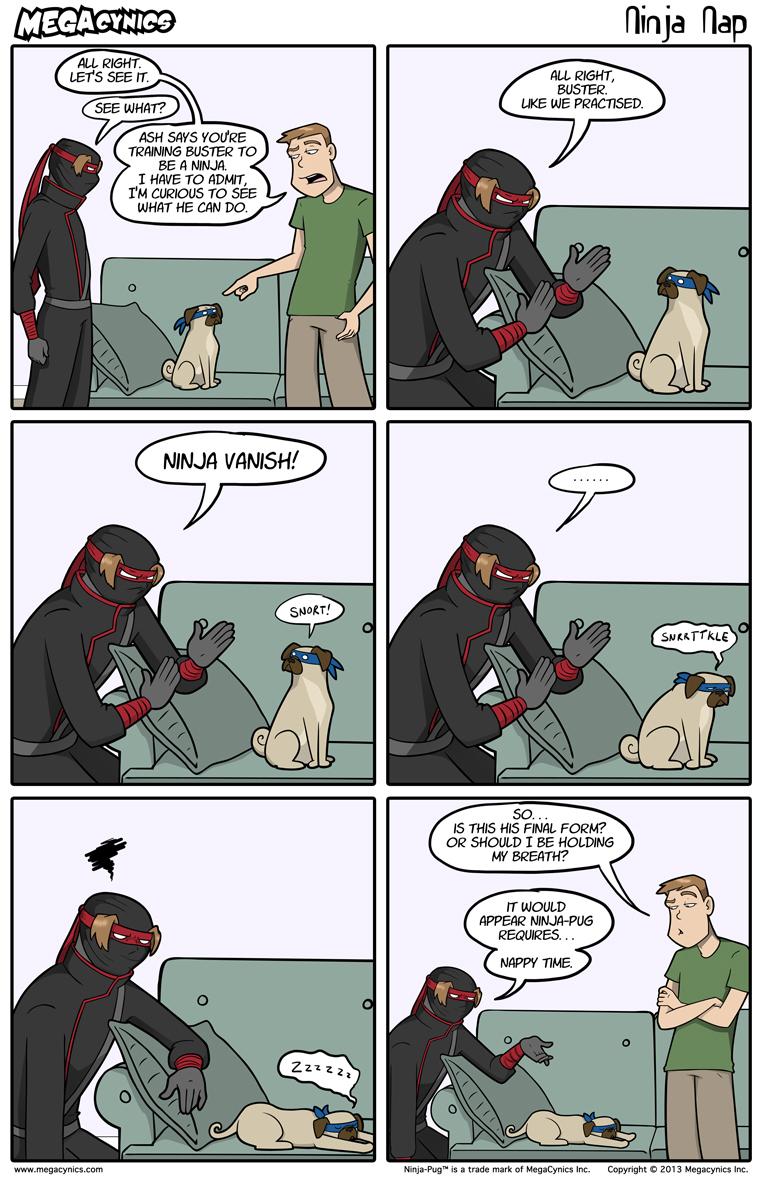 MegaCynics: Ninja Nap (Jul 19, 2013)