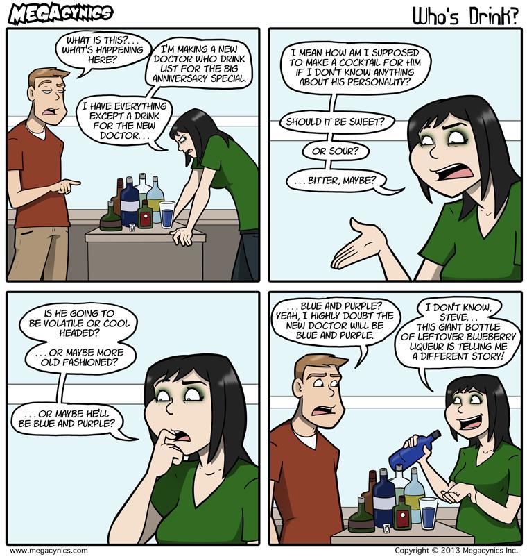 MegaCynics: Who's Drink? (Aug 23, 2013)