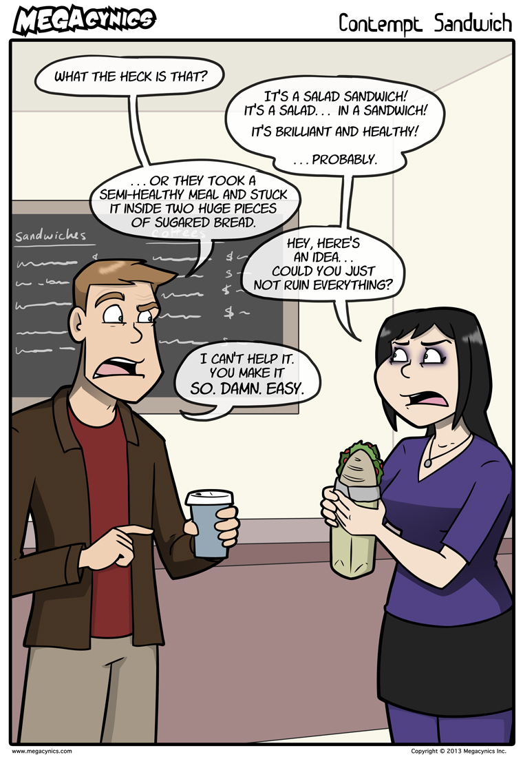MegaCynics: Contempt Sandwich (Sep 23, 2013)