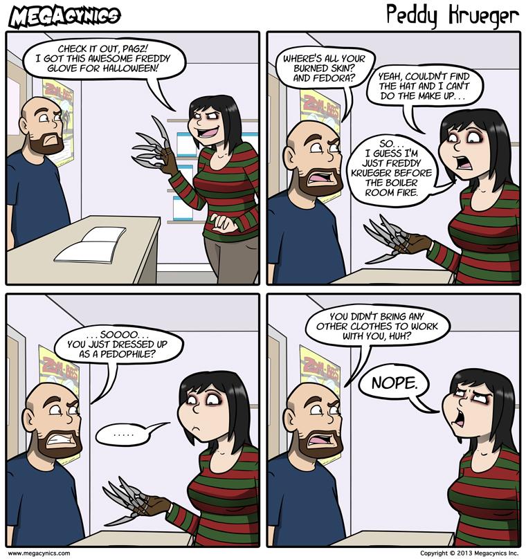 MegaCynics: Peddy Krueger (Oct 18, 2013)
