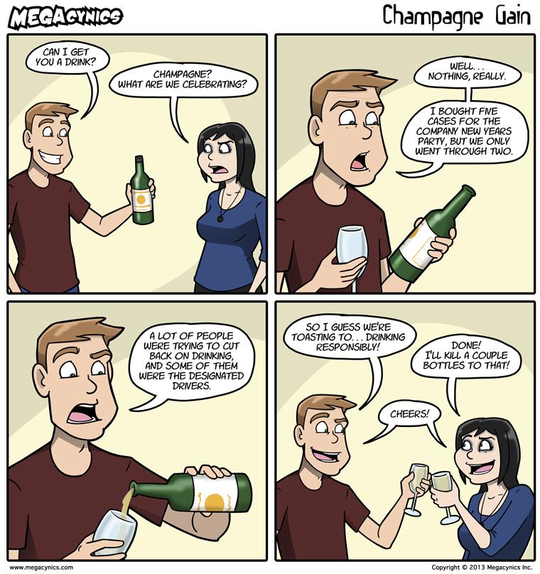 MegaCynics: Champagne Gain (Jan 3, 2014)