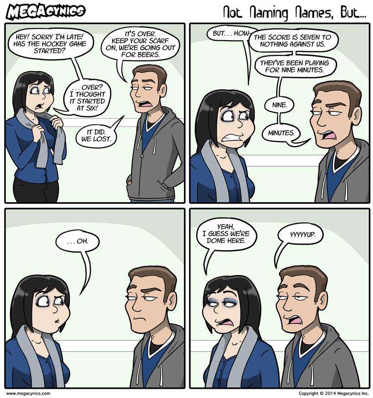 MegaCynics: Not Naming Names, But... (Jan 22, 2014)