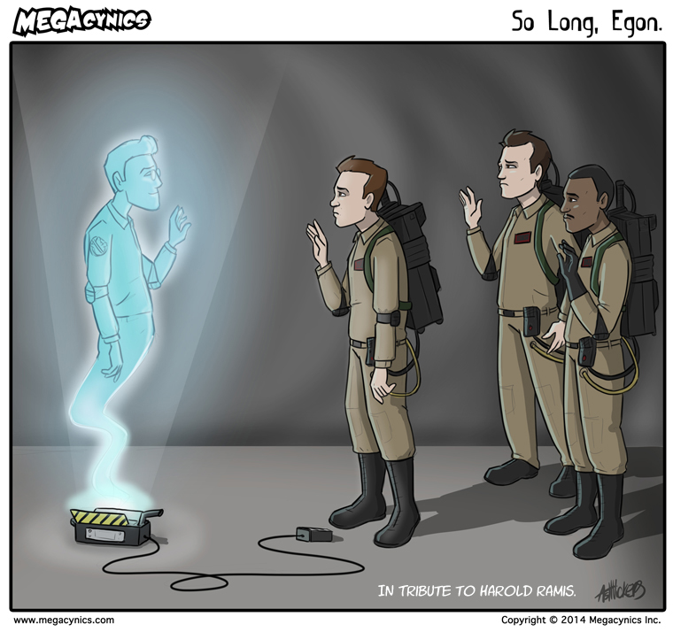 MegaCynics: So Long, Egon (Feb 25, 2014)