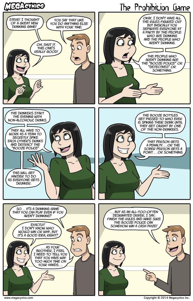 MegaCynics: The Prohibition Game (Apr 18, 2014)