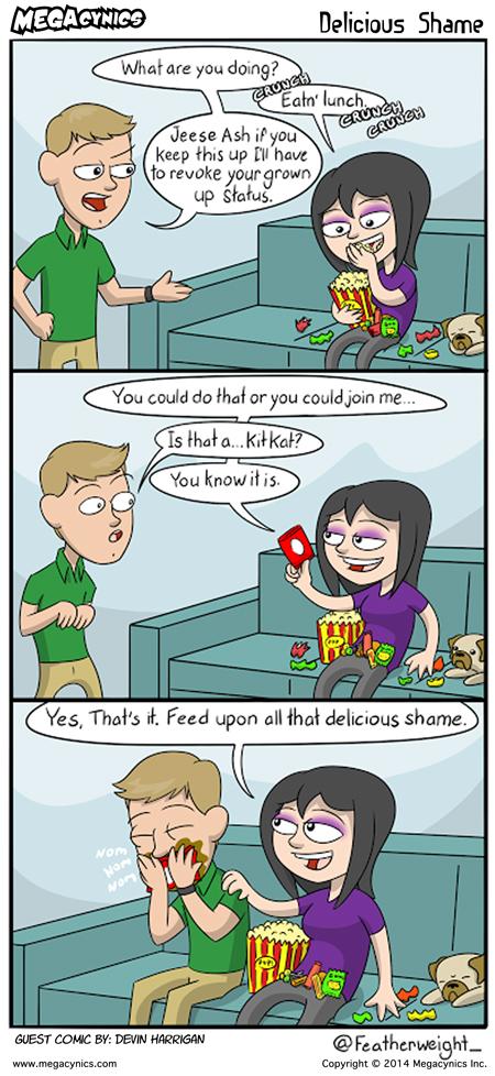 MegaCynics: Delicious Shame (May 7, 2014)