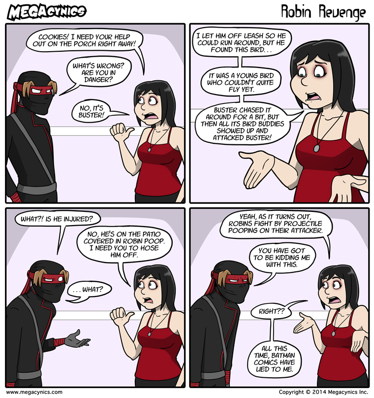 MegaCynics: Robin Revenge (May 28, 2014)