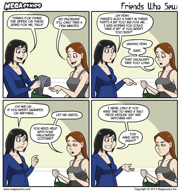 MegaCynics: Friends Who Sew (Oct 10, 2014)