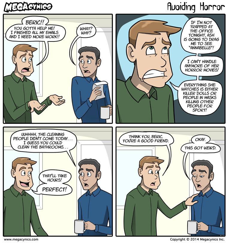 MegaCynics: Avoiding Horror (Oct 13, 2014)