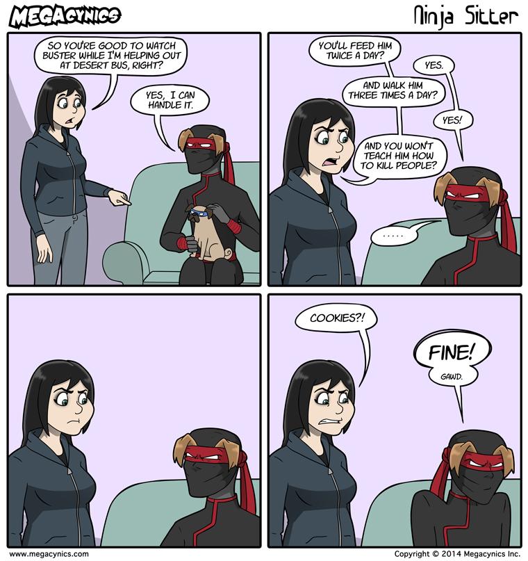MegaCynics: Ninja Sitter (Nov 12, 2014)